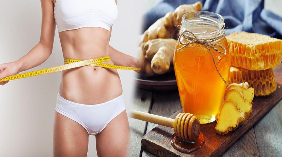 chá de gengibre e mel para perder peso