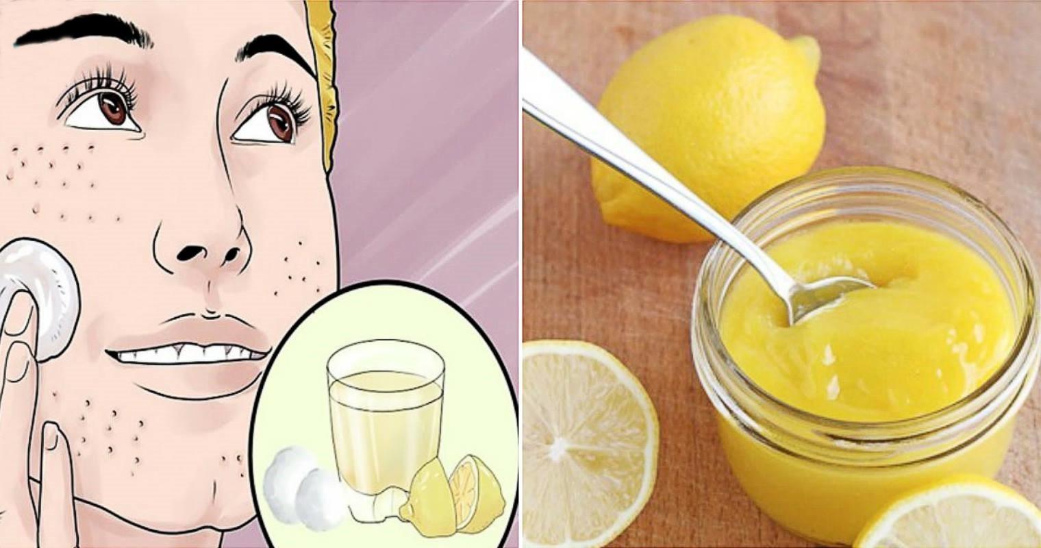 limão para remover as manchas do rosto