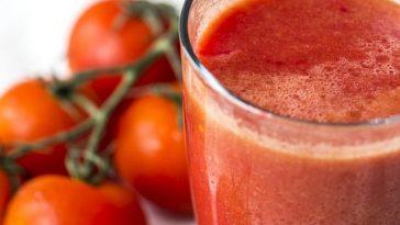 perca peso tomando suco de tomate
