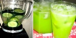 suco de pepino para perder peso