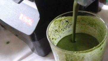suco verde para eliminar toxinas