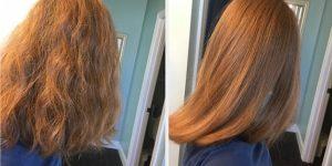 banho de brilho no cabelo