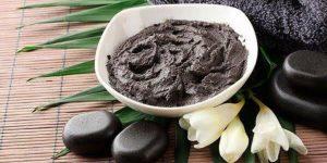 beneficios da argila preta para a pele e cabelo