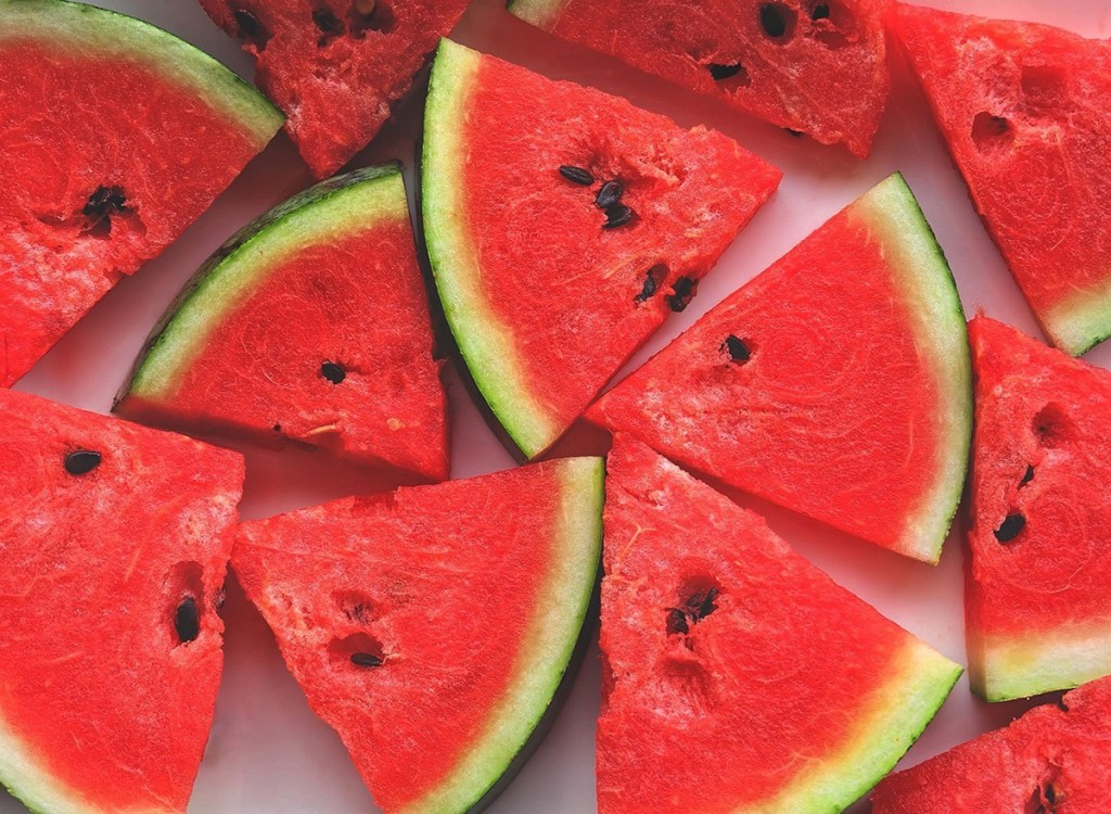 melancia e uma das frutas vermelhas