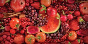 melhores frutas vermelhas