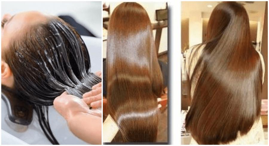 queratina no cabelo
